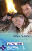 Snowbound with Dr Delectable - Mills & Boon Largeprint Medical (Hardback)