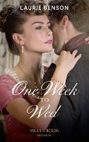 One Week To Wed - The Sommersby Brides 1 (Paperback)