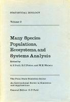 Statistical Ecology: Many Species Populations, Ecosystems and Systems Analysis v. 3 (Hardback)