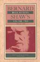 Bernard Shaw's Book Reviews: 1884-1950 v. 2 (Hardback)