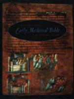 Imaging the Early Medieval Bible - Penn State Series in the History of the Book (Paperback)