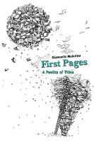 First Pages: A Poetics of Titles (Paperback)