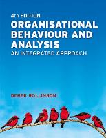 Organisational Behaviour and Analysis: An Integrated Approach (Paperback)