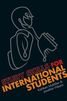 Study Skills for International Students: A handbook for studying in the UK (Paperback)