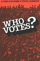 Who Votes? - Yale Fastback Series (Paperback)