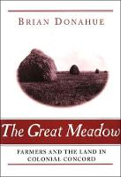 The Great Meadow: Farmers and the Land in Colonial Concord - Yale Agrarian Studies Series (Paperback)