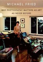 Why Photography Matters as Art as Never Before (Hardback)