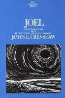 Joel - Anchor Bible Commentary  (YUP) (Hardback)