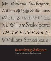 Remembering Shakespeare - Beinecke Rare Book and Manuscript Library    (Yale) (Paperback)