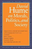 David Hume on Morals, Politics, and Society - Rethinking the Western Tradition                       (YUP) (Paperback)