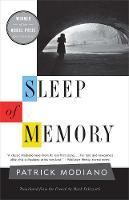 Sleep of Memory - The Margellos World Republic of Letters (Paperback)