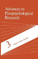 Advances in Parapsychological Research (Hardback)