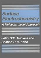 Surface Electrochemistry: A Molecular Level Approach (Paperback)