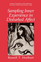 Sampling Inner Experience in Disturbed Affect - Emotions, Personality, and Psychotherapy (Hardback)