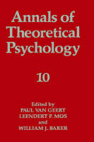 Annals of Theoretical Psychology - Annals of Theoretical Psychology 10 (Hardback)