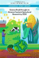 Science Breakthroughs to Advance Food and Agricultural Research by 2030 (Paperback)