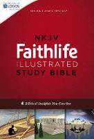 NKJV, Faithlife Illustrated Study Bible, Hardcover, Red Letter Edition: Biblical Insights You Can See (Hardback)