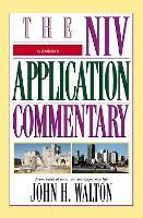 Genesis - The NIV Application Commentary (Hardback)