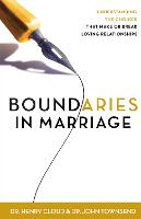 Boundaries in Marriage (Paperback)