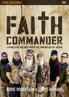 Faith Commander Video Study: Living Five Values from the Parables of Jesus (DVD video)