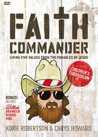 Faith Commander Children's Curriculum: Living Five Values from the Parables of Jesus (DVD video)