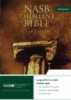 NASB Thinline Bible: New American Standard Bible - NASB Thinline S. No. 5 (Leather / fine binding)