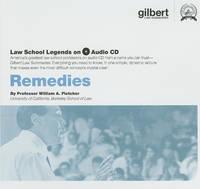 Remedies - Law School Legends Audio Series (CD-ROM)