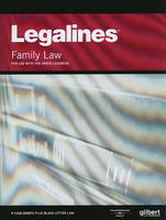 Legalines on Family Law, Keyed to Areen - Legalines (Paperback)