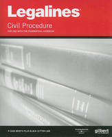 Legalines on Civil Procedure, Keyed to Friedenthal - Legalines (Paperback)