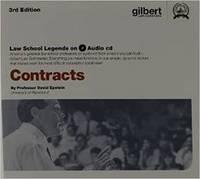 Law School Legends Audio on Contracts - Law School Legends Audio Series (CD-ROM)