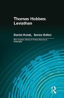 Thomas Hobbes: Leviathan (Longman Library of Primary Sources in Philosophy) (Paperback)