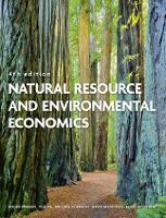 Natural Resource and Environmental Economics (Paperback)