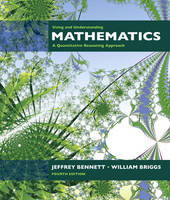 Using and Understanding Mathematics: A Quantitative Reasoning Approach: United States Edition (Hardback)