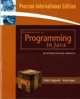 Introduction to Programming in Java: An Interdisciplinary Approach (Paperback)