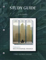 Fundamentals of Multinational Finance: Study Guide (Paperback)