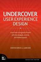 Undercover User Experience Design (Paperback)