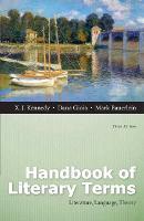 Handbook of Literary Terms: Literature, Language, Theory (Paperback)