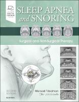 Sleep Apnea and Snoring: Surgical and Non-Surgical Therapy (Hardback)