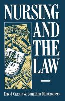 Nursing and the Law (Paperback)
