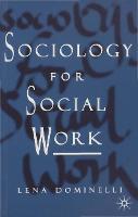 Sociology for Social Work (Paperback)
