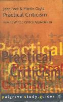 Practical Criticism - Macmillan Study Skills (Paperback)