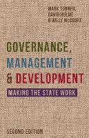 Governance, Management and Development: Making the State Work (Paperback)