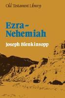 Ezra - Nehemiah - Old Testament Library (Paperback)