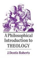 A Philosophical Introduction to Theology (Paperback)
