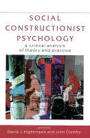 Social Constructionist Psychology (Paperback)