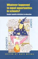 Whatever Happened to Equal Opportunities in Schools? (Paperback)