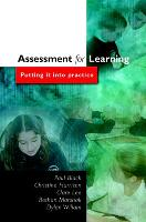 Assessment for Learning (Paperback)