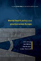 Mental Health Policy and Practice Across Europe (Paperback)