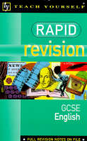 GCSE English: English GCSE - Teach Yourself: Rapid Revision Guides (Paperback)