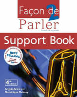 Facon De Parler 2 Support Book: French For Beginners (Paperback)
